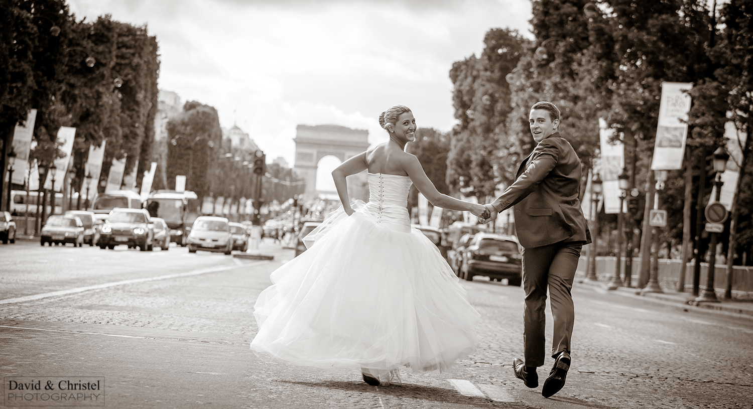 mariage Champs Elysees