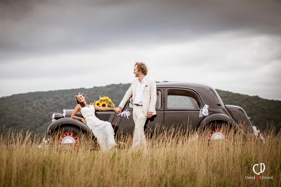 photographie mariage romantique