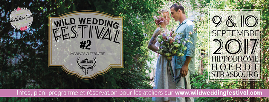 Wild wedding Alsace